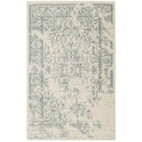 Safavieh Adirondack Vintage Distressed Ivory / Slate Grey Area Rug - 2'6 x 4'
