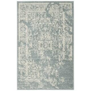 Safavieh Adirondack Vintage Distressed Slate Grey / Ivory Rug (2'6 x 4')