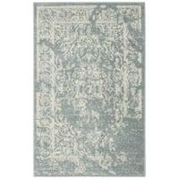 Safavieh Adirondack Vintage Distressed Slate Grey / Ivory Rug - 2'6 x 4'