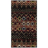 "Safavieh Amsterdam Black / Multi Area Rug - 2'3"" x 4'"