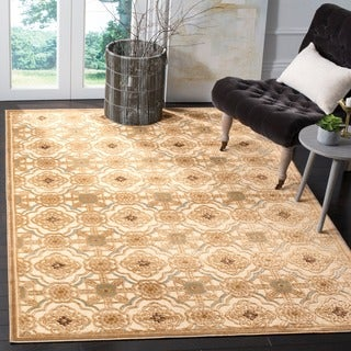 Martha Stewart by Safavieh Hemp-colored Viscose Runner Rug (2' 7 x 4')