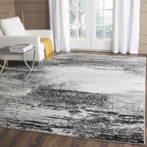 Safavieh Adirondack Modern Abstract Silver/ Multicolored Area Rug (12' x 18')