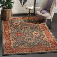 Safavieh Mahal Navy / Red Area Rug (12' x 18')
