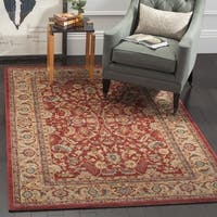 Safavieh Mahal Red / Natural Area Rug - 12' X 18'