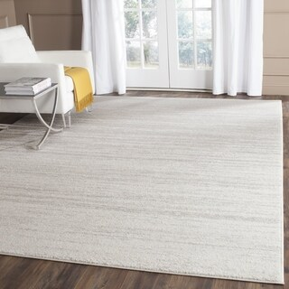 Safavieh Adirondack Vintage Ombre Ivory / Silver Area Rug (7' Square)