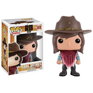 POP The Walking Dead - Carl BD Vinyl Figure