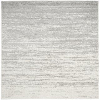 Safavieh Adirondack Vintage Ombre Ivory / Silver Area Rug (9' Square)