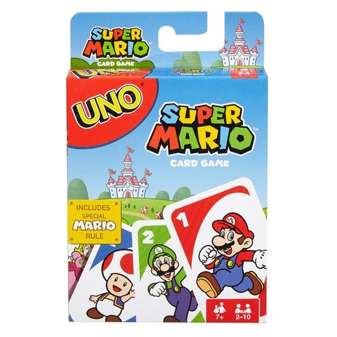 UNO Uno Super Mario Game