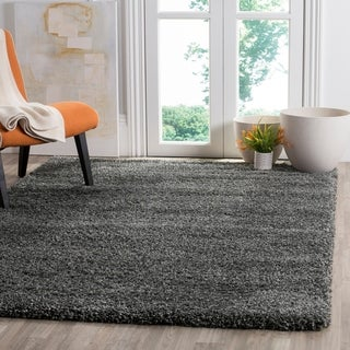 Link to Safavieh Santa Monica Einara Shag Polyester Rug Similar Items in Living Room Furniture