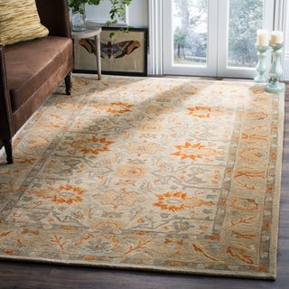 Safavieh Antiquity Hand-Woven Wool Beige / Multi Area Rug Runner (2'3 x 6')