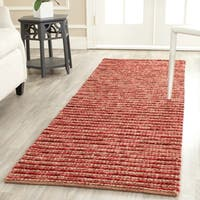 "Safavieh Bohemian Hand-Woven New Zeal / Wool Red / Multi Area Rug Runner - 2'6"" x 6'"