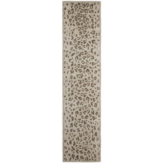 Safavieh Martha Stewart Wool Sharkey Gray Area Rug Runner (2'3 x 10')