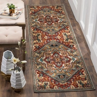Safavieh Summit Grey / Ivory Area Rug Runner (2'3 x 8')
