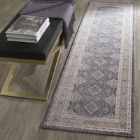 "Safavieh Sofia Vintage Diamond Light Grey / Beige Distressed Runner - 2'2"" x 12'"