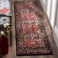 Safavieh Vintage Hamadan Traditional Red/ Multi Distressed Area Rug Runner - 2'2 X 12'