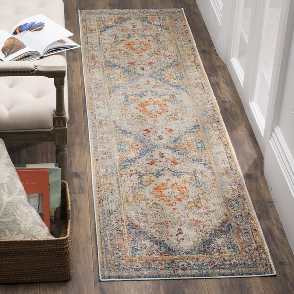 Safavieh Vintage Persian Blue Multi Distressed Runner Rug 2 X27 X