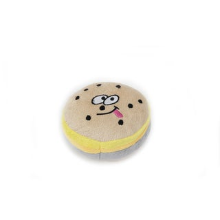 Anima Burger Squeaky Soft Plush Toy for Small Dogs