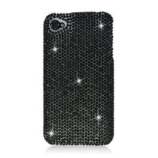Insten 3D Hard Snap-on Diamond Bling For Apple iPhone 4/ 4S