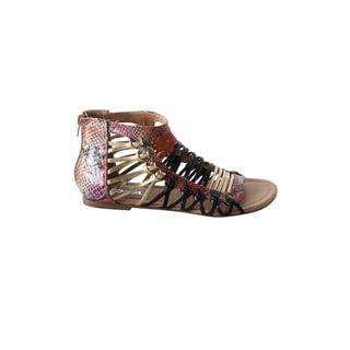 Hadari Women's Gladiator Strap Sandal