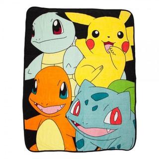 Bioworld Pokemon Character Throw Blanket