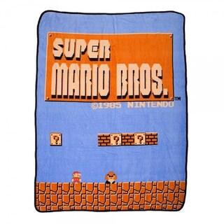 Bioworld Nintendo Super Mario Throw Blanket