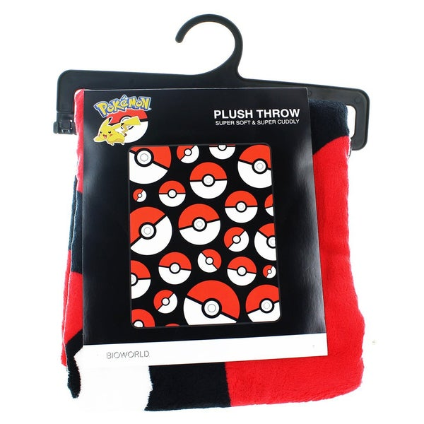 Bioworld Pokemon PokeBall Throw Blanket