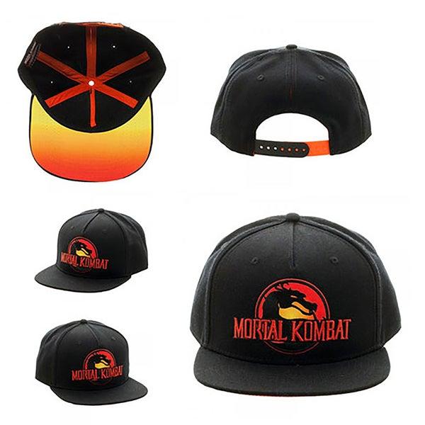 cd66f5f4c5c6c Shop Bioworld Mortal Kombat Logo Snapback Hat - Free Shipping On ...