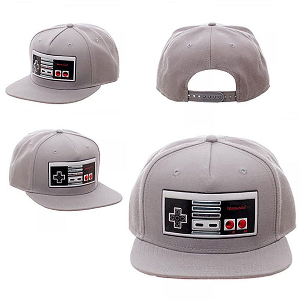53b18827f15 Shop Bioworld Nintendo Chrome Controller Weld Snapback Hat - Free Shipping  On Orders Over  45 - Overstock - 14197169