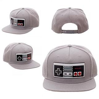 Bioworld Nintendo Chrome Controller Weld Snapback Hat