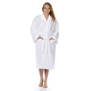 Women's Plush Fleece Kimono Bathrobe