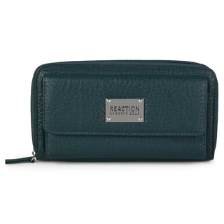 Kenneth Cole Reaction Women's Zip Around Urban Organizer Clutch Wallet