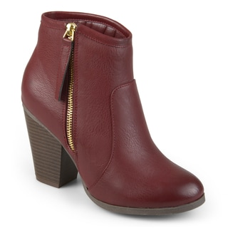 Journee Collection Women's 'Jolie' High Heel Ankle Booties