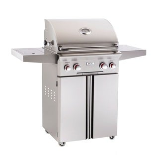 American Outdoor Grill 24 inch T Series Stand Alone Gas Grill W/ Rotisserie & Single Side Burner