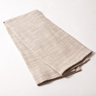 Jerome Khaki Linen/Cotton Blend Guest Towel (Set of 2)