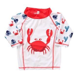 Rockin' Baby UPF50+ Sealife Print Rash Vest