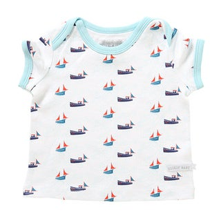 Rockin' Baby Cotton Sealife Print T-shirt