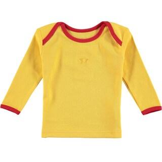 Rockin' Baby Infant Boys' Yellow Cotton Tee