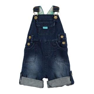Rockin' Baby Blue Cotton Denim Dungaree