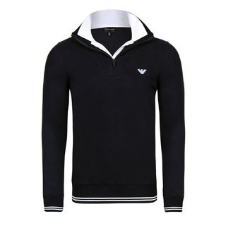 Armani Men's Half Zip Sweater