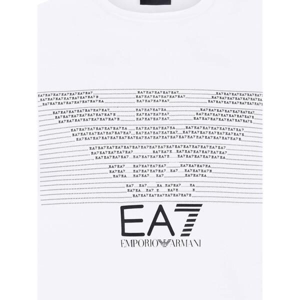 huge selection of e6392 737f7 Shop Armani Men's EA7 White T-Shirt - Free Shipping Today ...