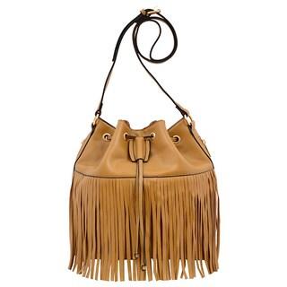 Mellow World Casey Fringe Bucket Bag