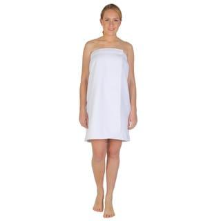 Women's Turkish Velour Cotton Fleece Bath Towel Wrap
