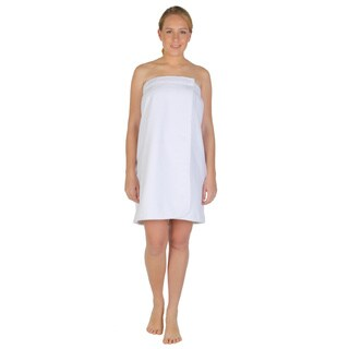 Women's Turkish Velour Cotton Fleece Bath Towel Wrap