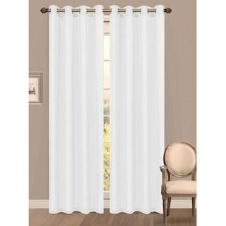 Window Elements Primavera Semi-Sheer 84-inch Grommet Curtain Panel - 55 x 84
