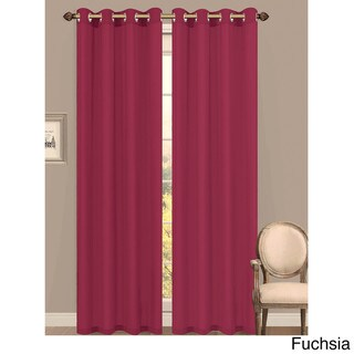 Window Elements Primavera Semi-Sheer 84-inch Grommet Curtain Panel - 55 x 84
