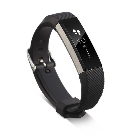 Zodaca One-size Wristband with Metal Buckle Clasp For Fitbit Alta - One size