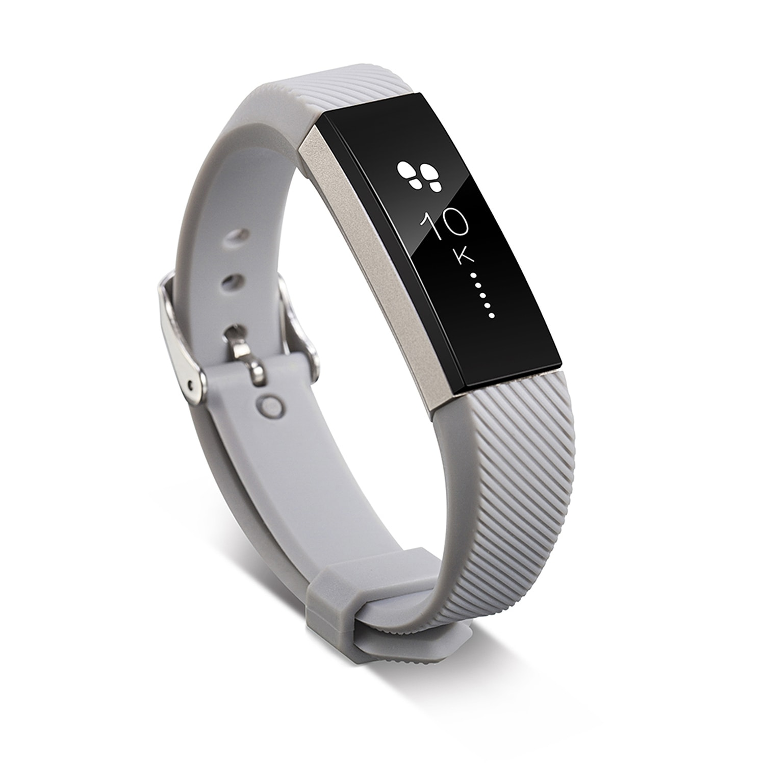 Shop Zodaca One Size Wristband With Metal Buckle Clasp For Fitbit