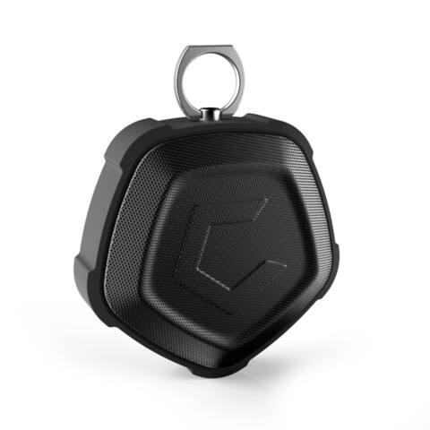 Cobble Pro Outdoor Pentagon Wireless Bluetooth 4.2 Portable Dustproof/ Shockproof/ Waterproof Speaker with Built-in Microphone