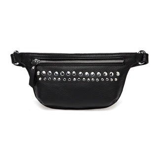 Vicenzo Leather Kerry Studded Leather Waistbag
