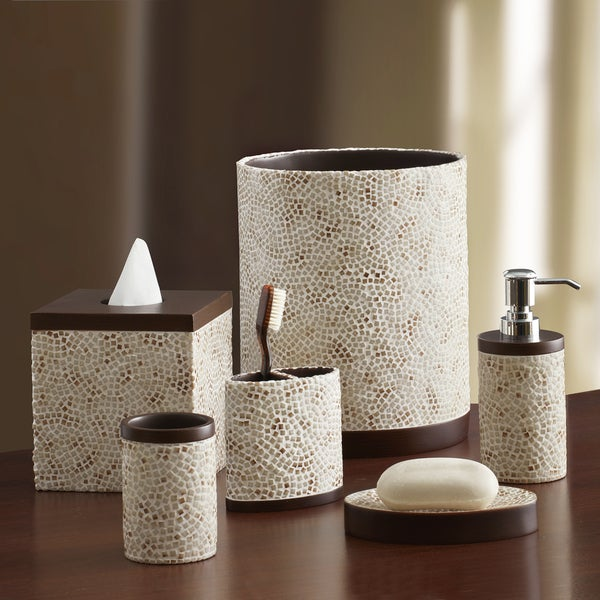 Shop Croscill Mini Mosaic Bathroom Collection Free